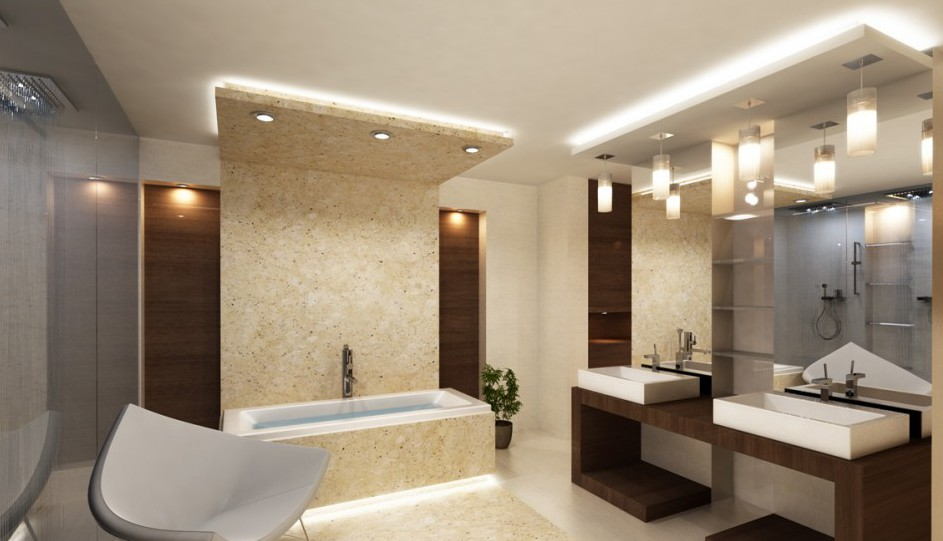 Luxury bathroom archives architecture art designs 18 astounding luxury bathroom lighting that will delight you mozeypictures Gallery