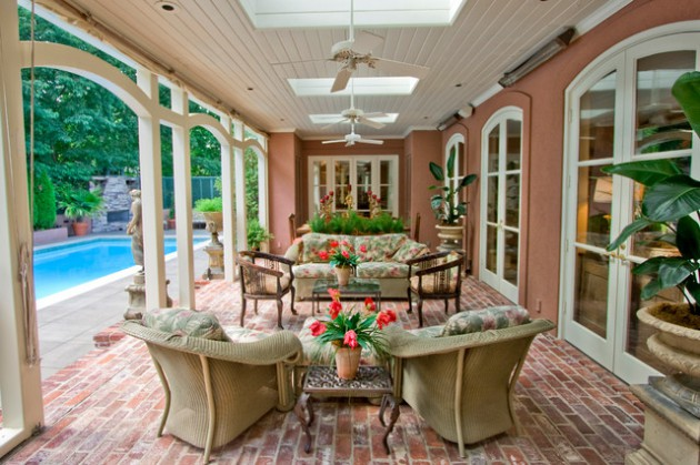 22 Brilliant Brick Patio Designs For Real Enjoyment
