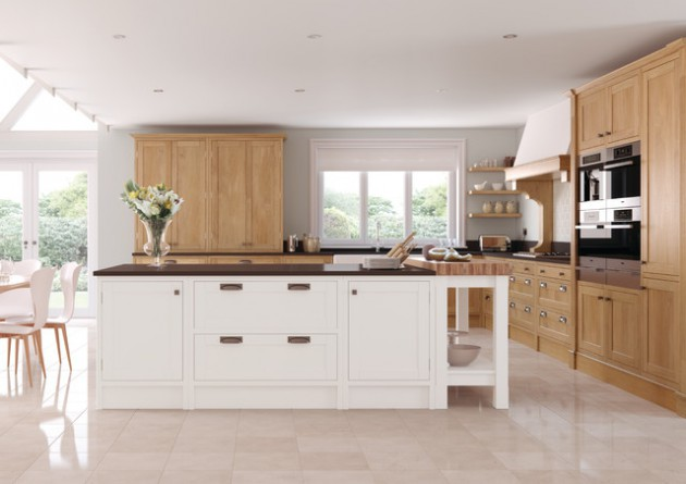 18 Sophisticated Wooden Kitchen Designs For Pleasant Atmosphere