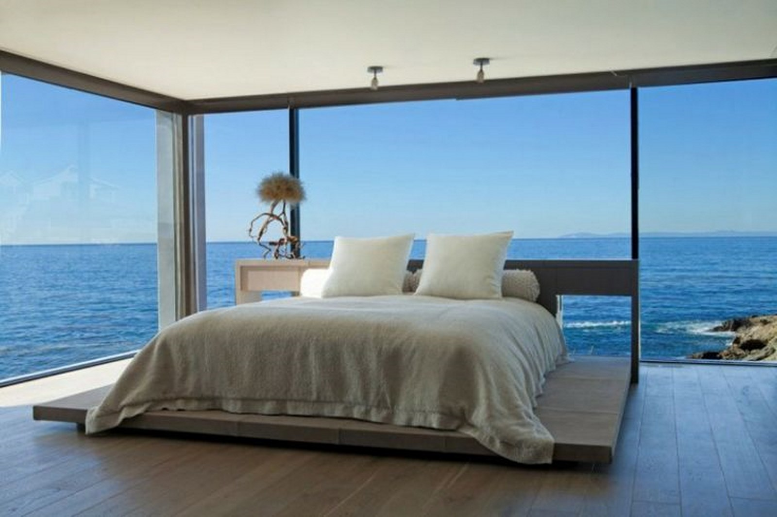 18 Really Amazing Bedroom Ideas WIth Glass Wall To Enjoy ... on Amazing Bedroom Ideas  id=94480