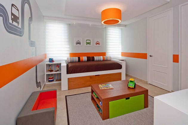 15 Joyful Colorful Kids Bedroom Design Ideas