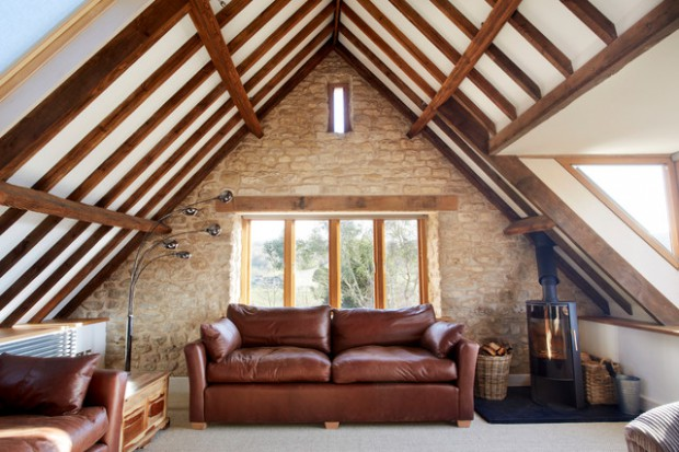 15 Beautiful Ideas For Decorating Cozy Attic Room