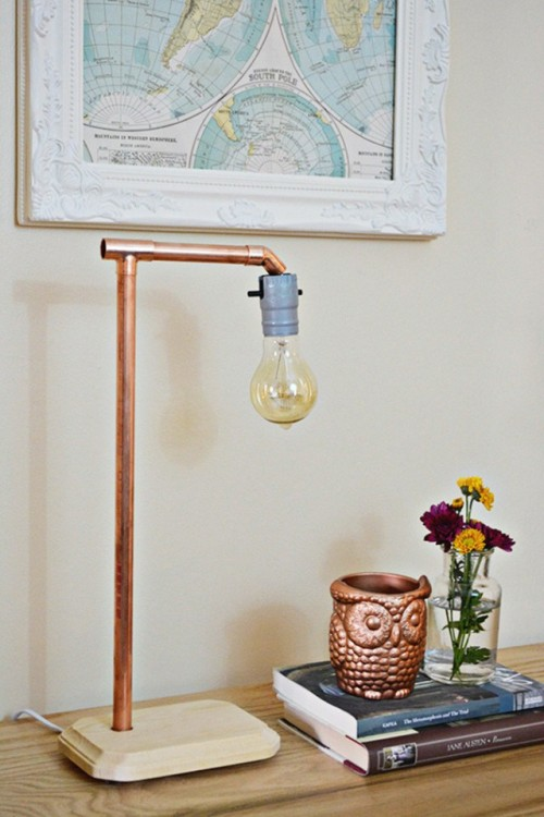19 DIY Copper Pipe Projects To Beautify Your Home