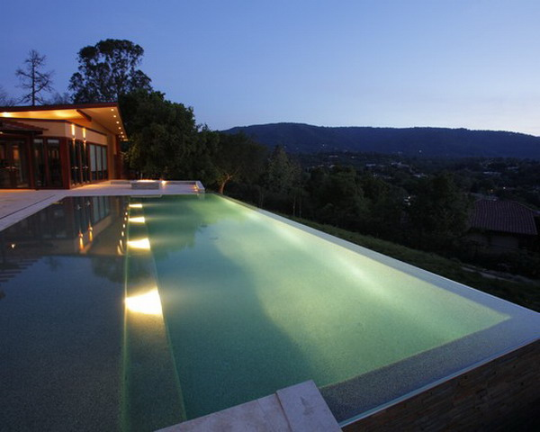 Modern Pool Design Water Features