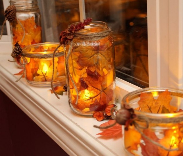 Top 18 The Cheapest DIY Fall Decorations With Mason Jars