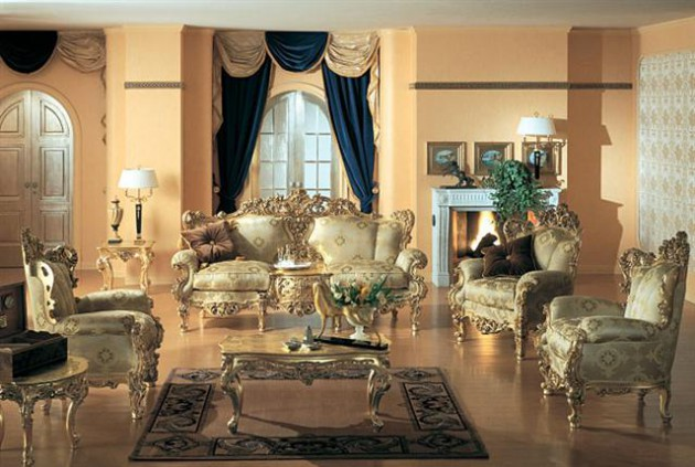 10 Grandiose Italian Sofa Designs For Sophisticated Living Room