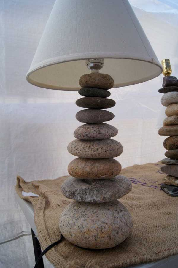 18 Creative Ideas To Decorate Your Home With River Rocks on Rock Decorating Ideas  id=94418