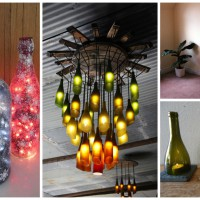Top 21 Most Genius DIY Ideas To Reuse Old Wine Bottles