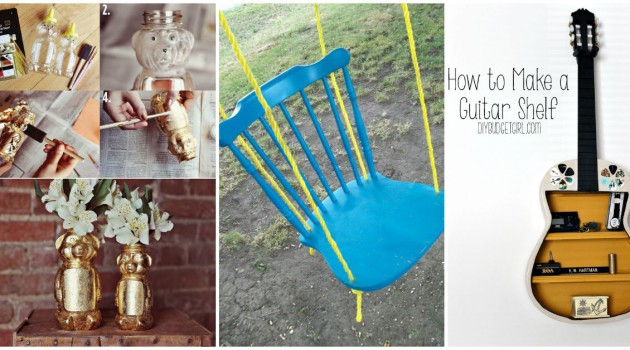 21 Genius Ideas How To Transform Everyday Objects Into Useful Items