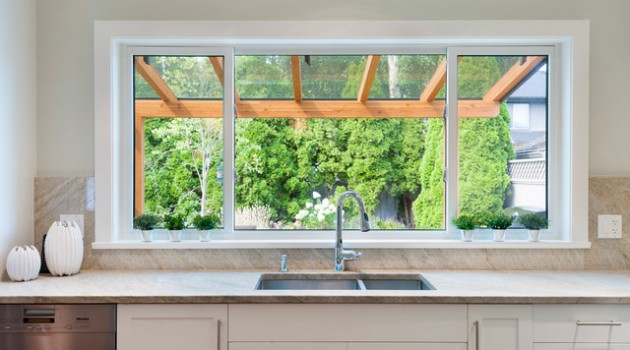 19 Wonderful Kitchen Sink Designs With Amazing View