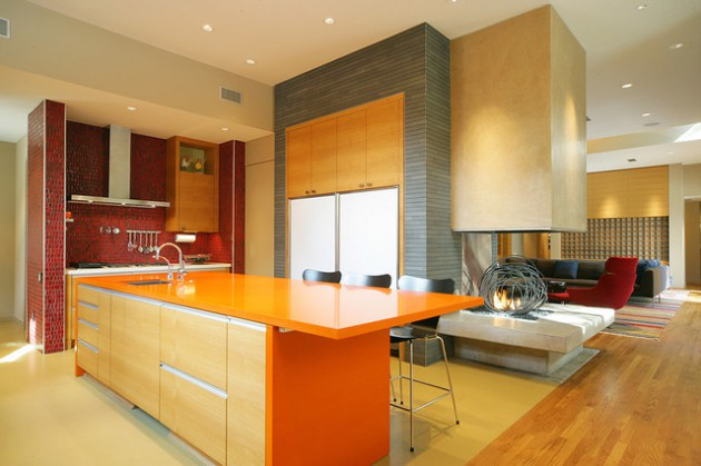 18 Outstanding Colorful Kitchen Designs To Break The Monotony In Your Home