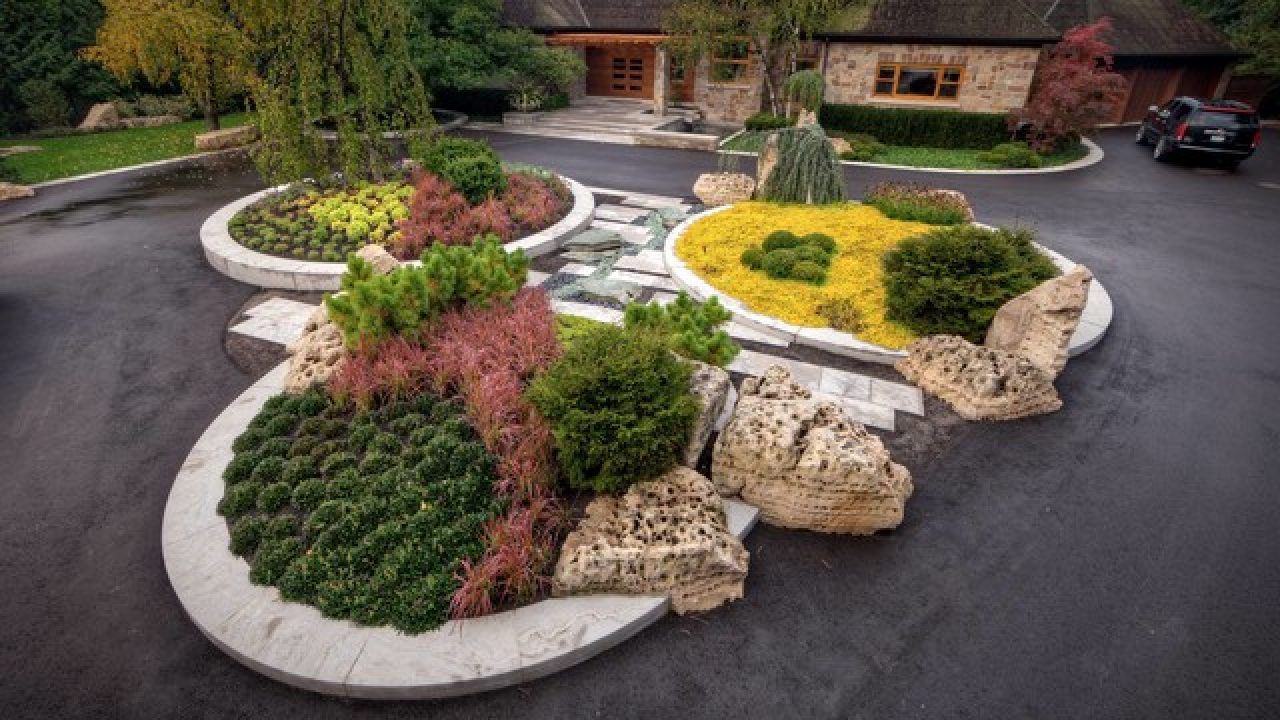 17 Brilliant Front Yard Landscape Design Ideas