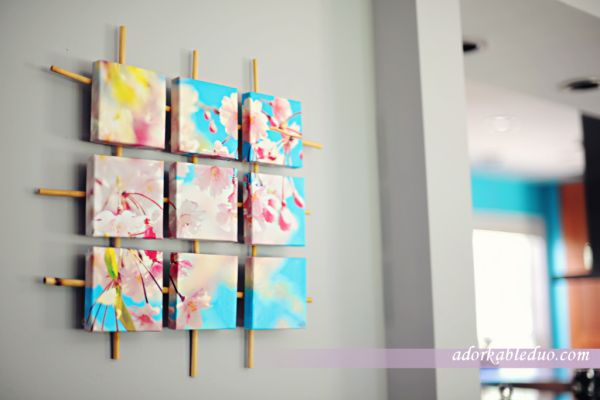 Spectacular  Cheap u Easy DIY Wall Decor That Anyone Can Make