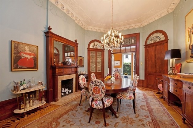 15 glamorous dining rooms in victorian style Victorian dining room colors