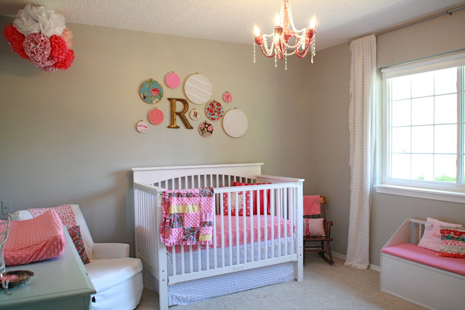 Украшаем комнату новорожденного своими руками