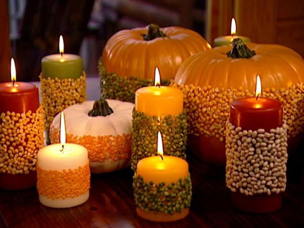 19 totally easy inexpensive diy thanksgiving decorations How to decorate your house for thanksgiving