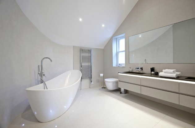 18 Classy Minimalist Bathrooms That Will Provide You Extra Pleasure