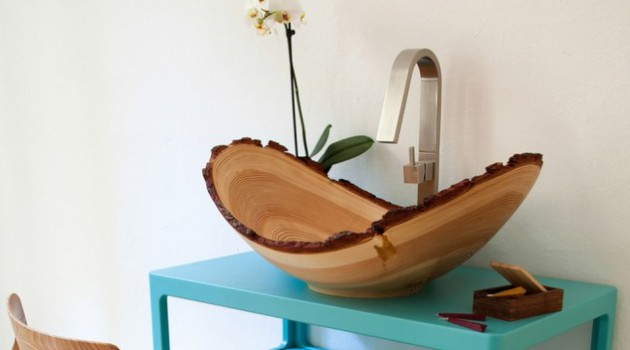 14 Cool Bathroom Sink Design Ideas In The Shape Of Bowl