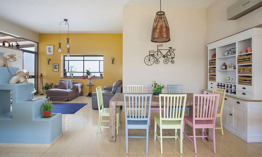 16 beautiful pastel interior design ideas for Arredamento particolare per la casa
