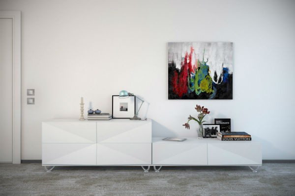 17 Tasteful Contemporary Wall Art Ideas To Give A Lively Spirit To The Living Room