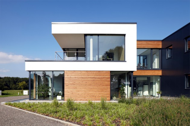 15 Breathtaking Contemporary Home Exterior Designs That Will Inspire ...