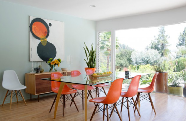 15 Charming Mid Century Modern Dining Room Designs For A Pleasant Meal Time
