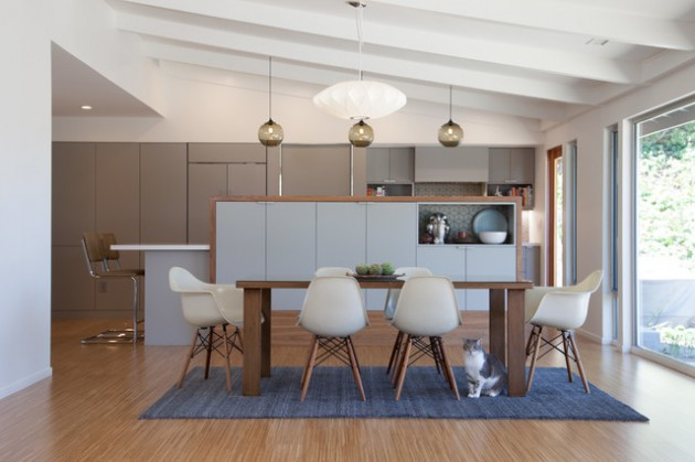 15 Charming Mid-Century Modern Dining Room Designs For A Pleasant ...