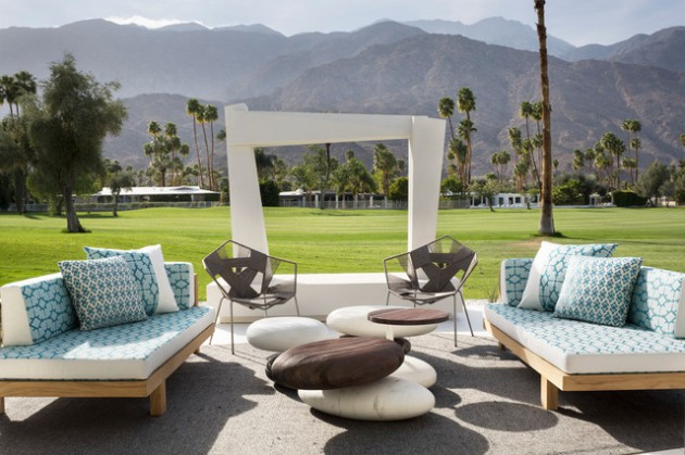 High Quality 15 Stunning Mid Century Modern Patio Designs To Make Your Backyard Shine