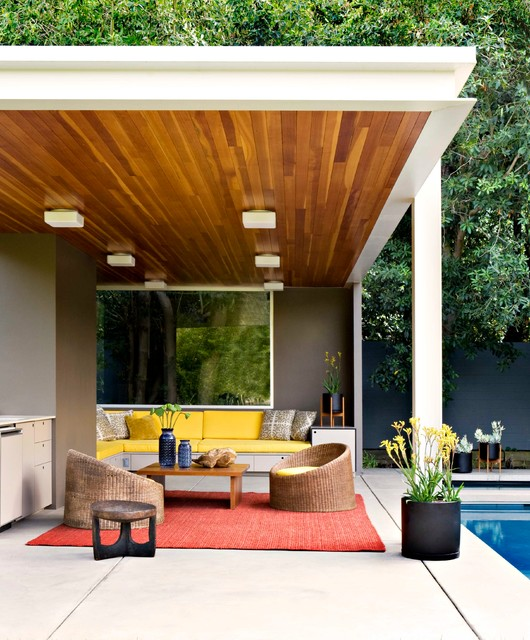 Home Design Ideas Build: 15 Stunning Mid-Century Modern Patio Designs To Make Your