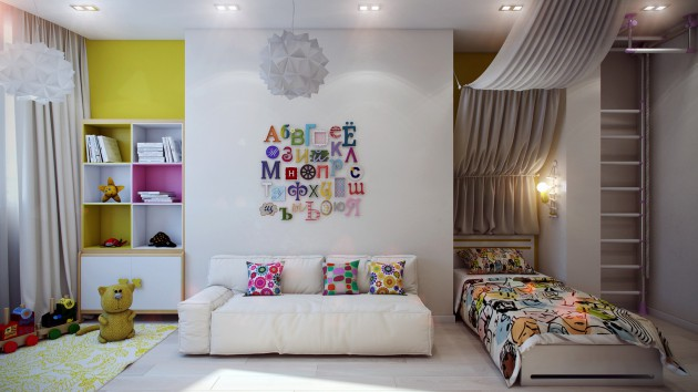 15 Adorable Kids Room Designs To Make Your Kids Even More Happy