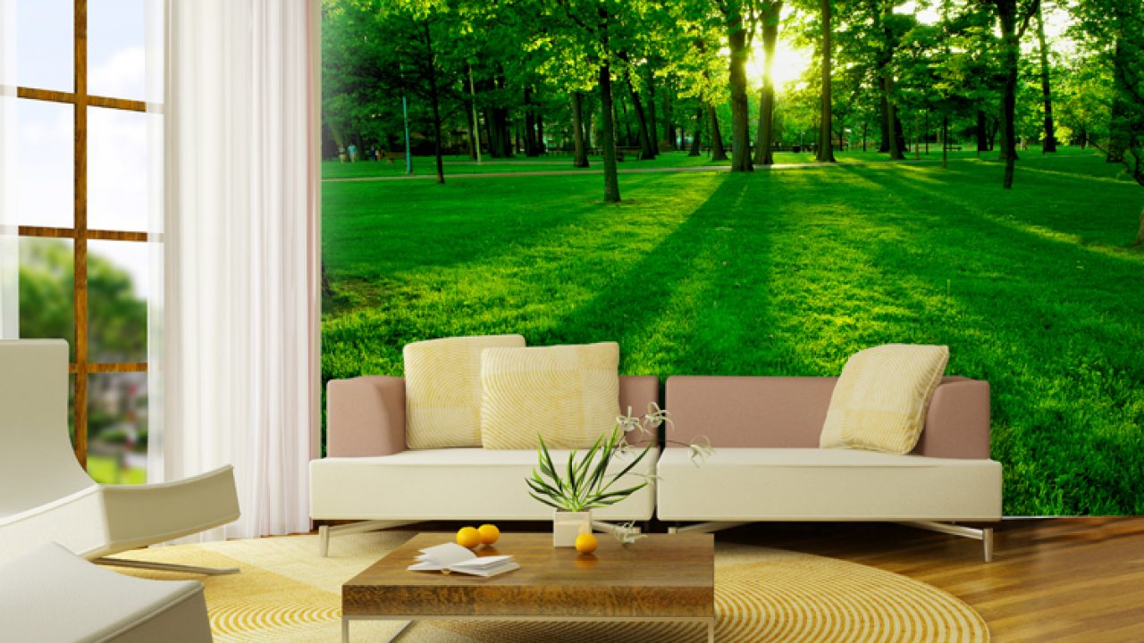 19 Divine Nature Themed Wallpapers For Your Dream Living Room