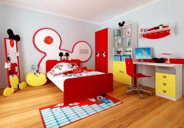 Children S And Kids Room Ideas Designs Inspiration: 16 Joyful Disney-Themed Bedroom Designs That Will Delight