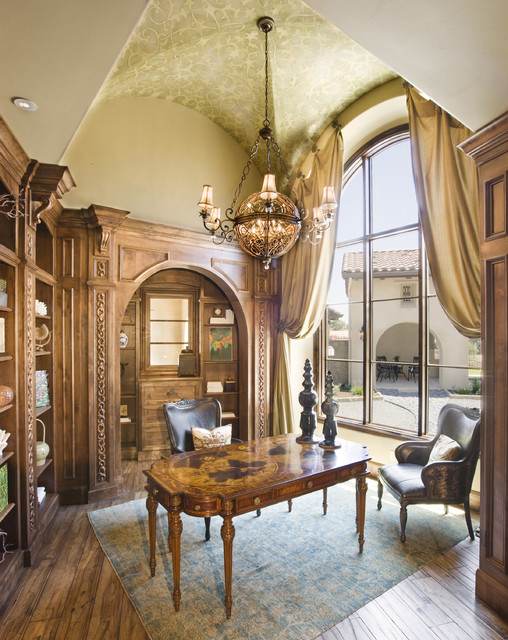 16 Jaw Dropping Mediterranean Home Office Designs That Will Inspire You