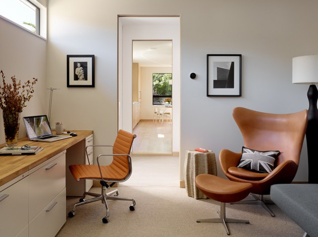Genial 16 Spectacular Mid Century Modern Home Office Designs For A Retro Feel