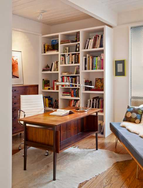 16 Spectacular Mid Century Modern Home Office Designs For A Retro Feel