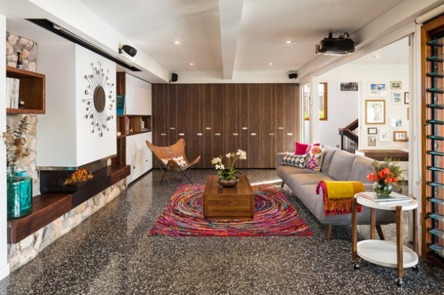 10 Unique Ways to Incorporate Tiles into your Living Room Design