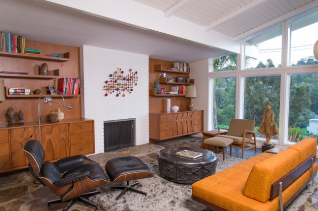 appealing mid century modern interiors living rooms | 16 Splendid Mid-Century Modern Living Room Designs You Can ...
