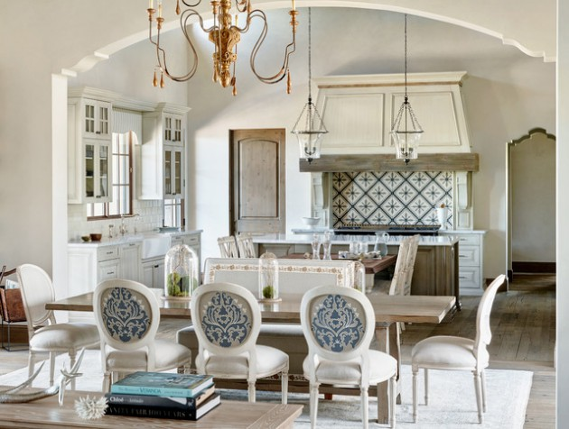 16 Stunning Mediterranean Dining Rooms Youre Going To Love