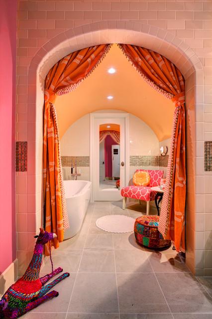 17 Astounding Mediterranean Bathroom Designs That Are Sparkling With Elegance