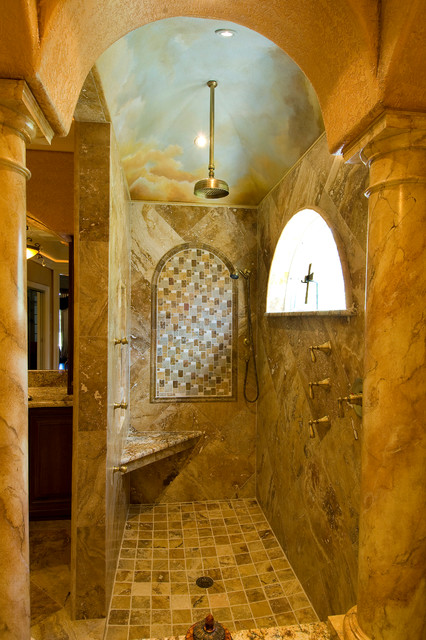 17 Astounding Mediterranean Bathroom Designs That Are