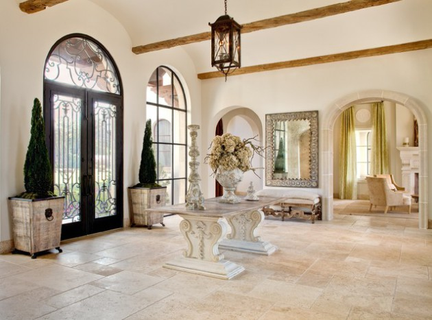 17 Irresistible Mediterranean Entrance Designs That Will