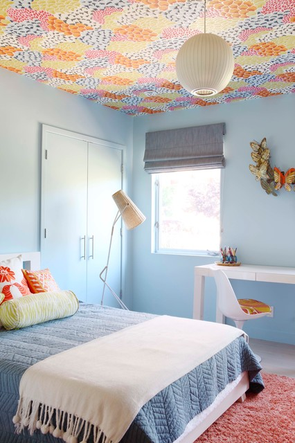 17 Vibrant Mid Century Modern Kids Room Interior Designs