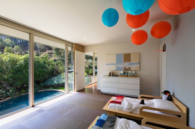 17 Vibrant Mid Century Modern Kids Room Interior Designs Your Kids Will Love