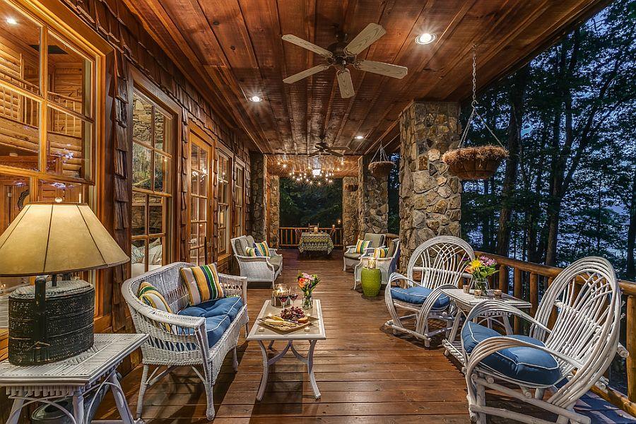 17 Charming Rustic Deck Design Ideas