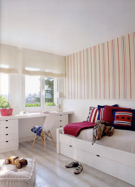 Room Design For Teenager: 18 Lively Mediterranean Kids' Room Interior Designs To