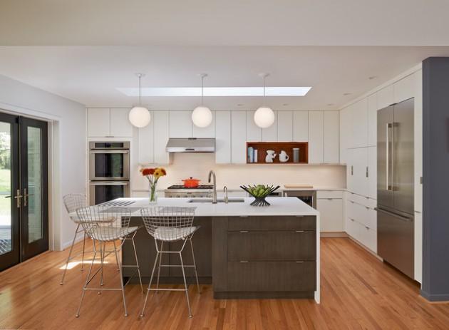 18 Remarkable Mid-Century Modern Kitchen Designs For The Vintage Fans