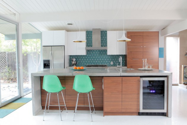 18 Remarkable Mid Century Modern Kitchen Designs For The Vintage Fans