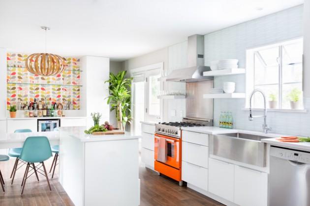 remarkable summer kitchen design ideas | 18 Remarkable Mid-Century Modern Kitchen Designs For The ...