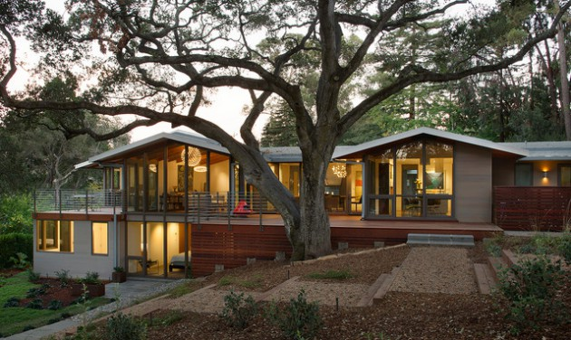 18 Spectacular Mid Century Modern Exterior Designs That