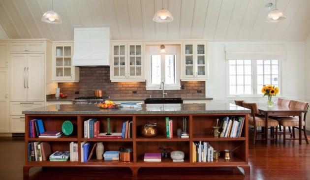 Farmhouse Bench Seating Kitchen